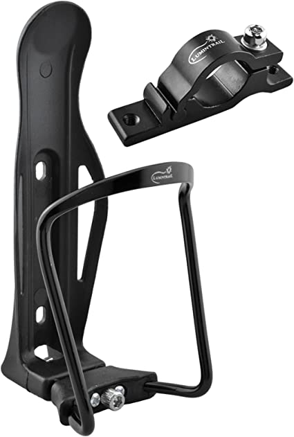 Lumintrail Bike Bicycle Water Bottle Cage Holder w// Mounting Bracket 2-PACK