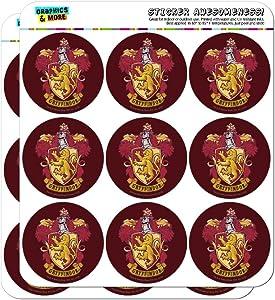 Harry Potter Gryffindor Painted Crest Planner Calendar Scrapbooking Crafting Stickers