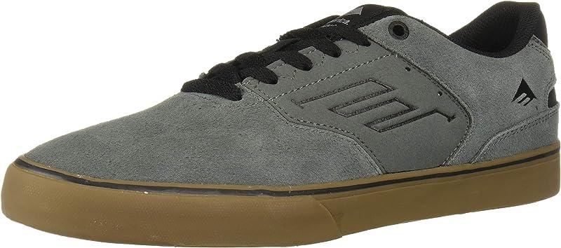 Emerica Reynolds Low Vulc Sneakers Damen Herren Unisex Grau/Gummi