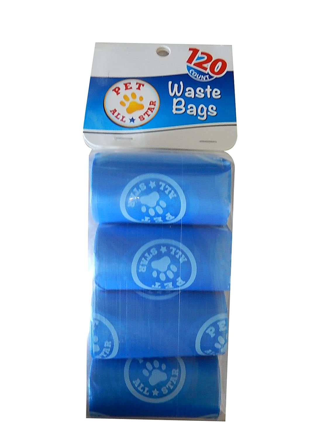 Amazon.com: Mascota All-Star bolsas de basura 120 unidades ...