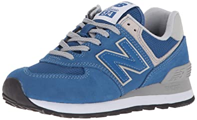 hot sale online ebb85 22966 Image Unavailable. Image not available for. Color  New Balance Men s 574 v2  Sneaker Classic Blue ...