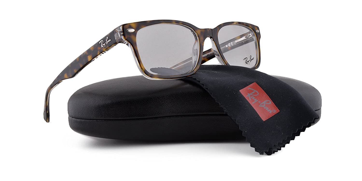 7584558594 Ray Ban RX5286 Eyeglasses 51-18-135 Top Havana On Transparent 5082 RX 5286   Amazon.ca  Clothing   Accessories