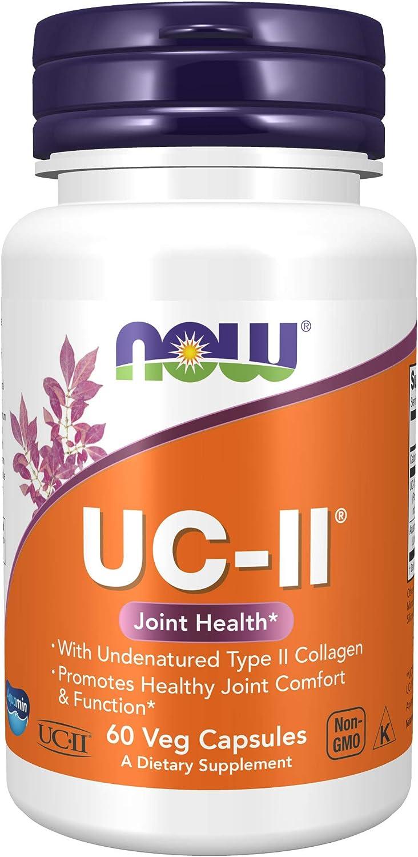 UC-II Colágeno Tipo 2 40mg Now Foods