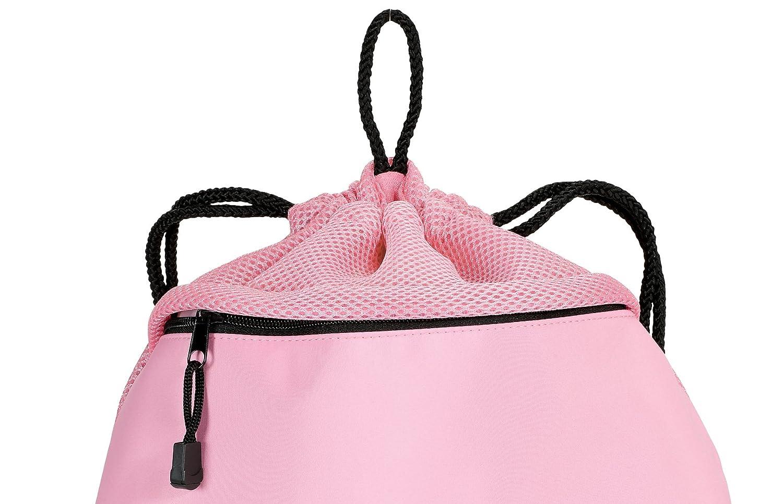 Broad Bay Cute LSU Drawstring Backpack Ladies LSU Tigers Cinch Bag Unique MESH /& Microfiber
