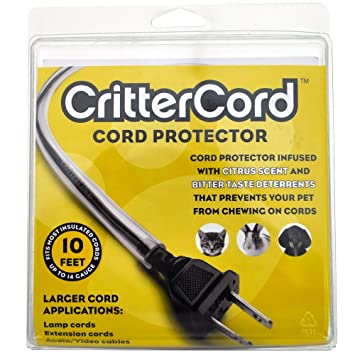 Pet Supplies : Cord Covers : Cord Protector - CritterCord - A New ...