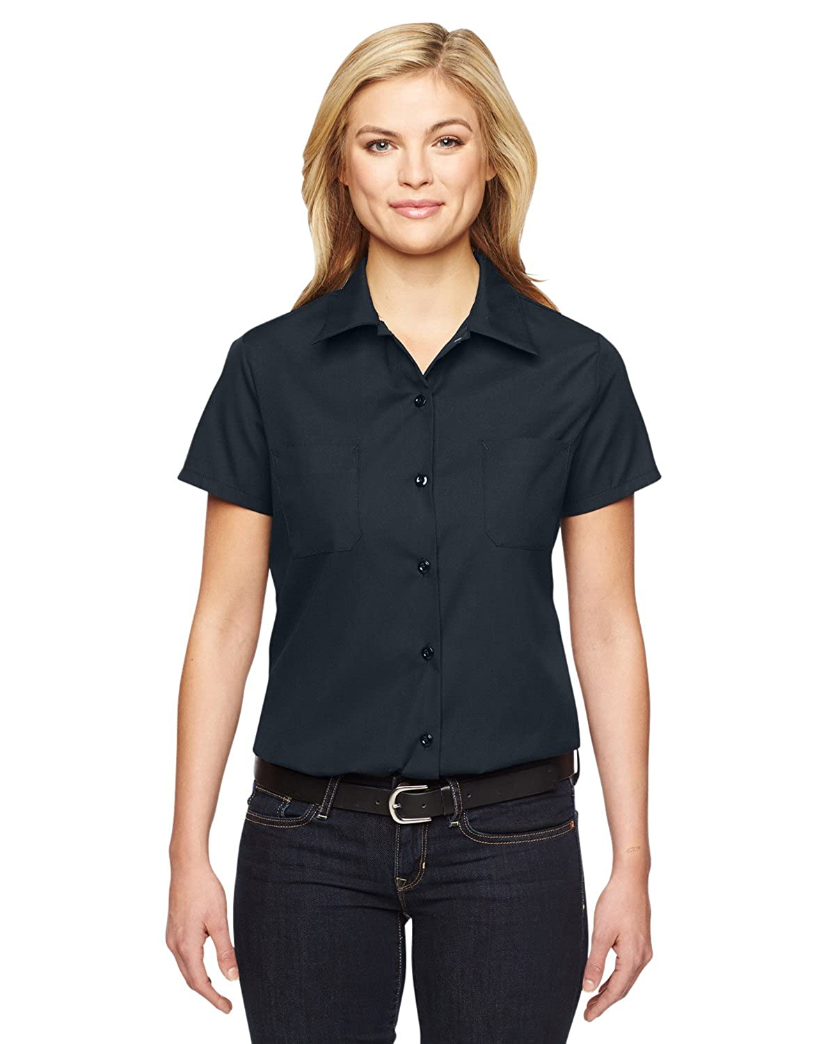Dickies Women's Industrial Short Sleeve Work Shirt M48146