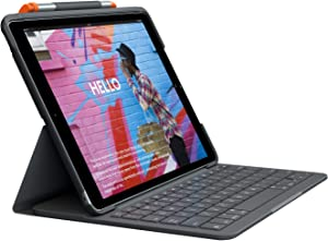 Logitech iPad Air (3rd Generation) Keyboard Case | Slim Folio with Integrated Wireless Keyboard (Graphite)