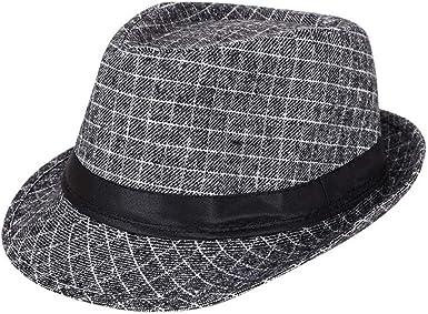 AIEOE - Sombrero Cordobés Jazz para Hombre Adulto Gorro de Copa ...