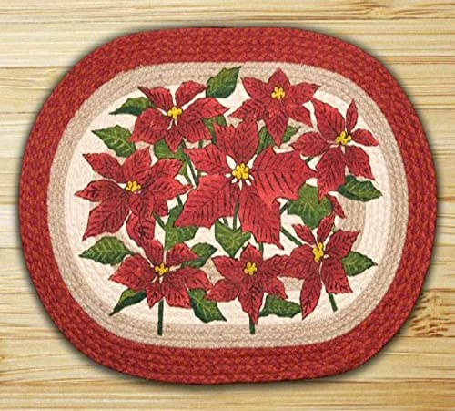 Earth Rugs Rug, 20 by 30 , Christmas Red Natural