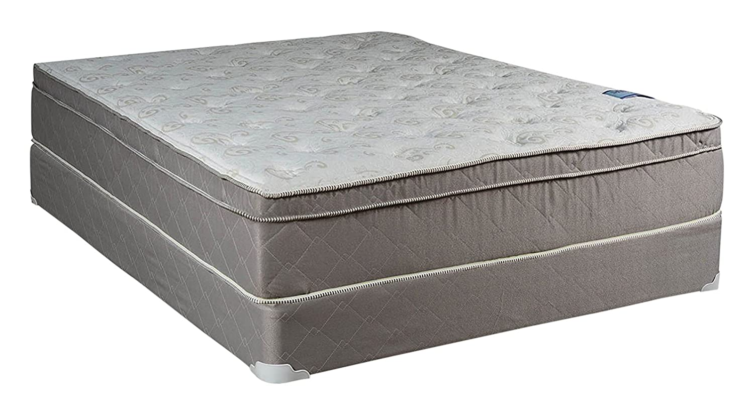 About California Queen Mattress Amazon.com: Dream Solutions Milano Inner Spring Coil Pillow, Top Foam  Encased Edge Support Mattress and Box Spring Set, California, Queen:  Kitchen u0026 Dining