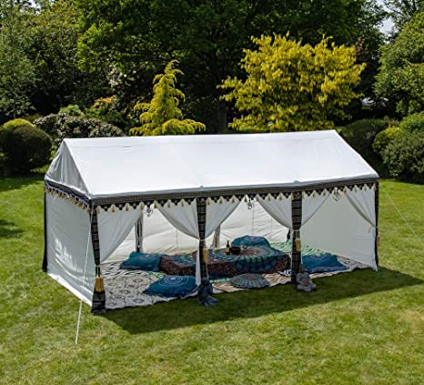 Kerala™ Carpa Impermeable Estilo Indio - 3m x 6m: Amazon.es: Jardín