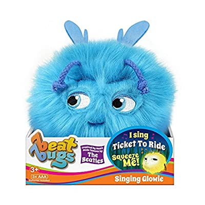 Beat Bugs Glowie Plush Blue: Toys & Games [5Bkhe1202613]