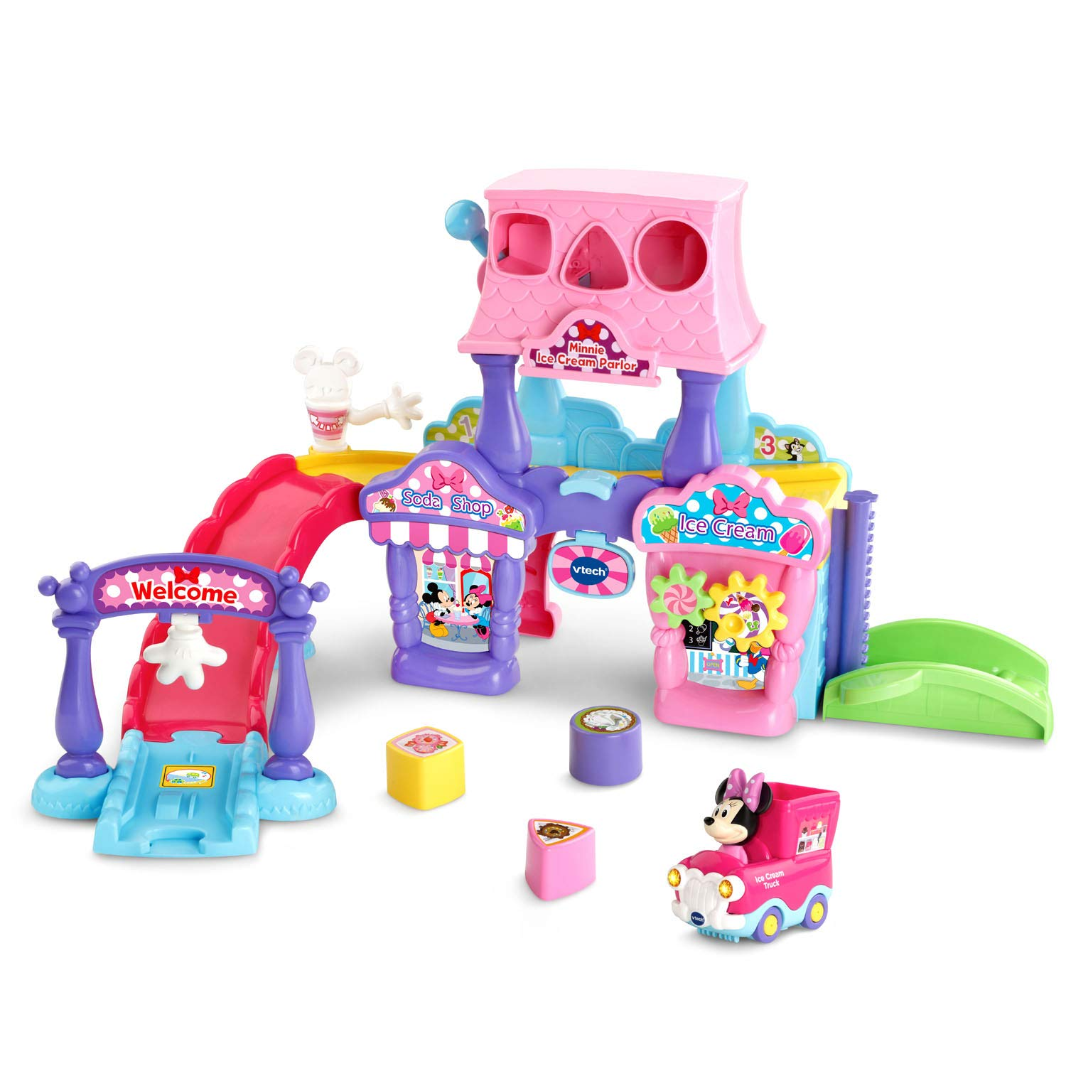 VTech Go! Go! Smart Wheels Minnie Mouse Ice Cream Parlor