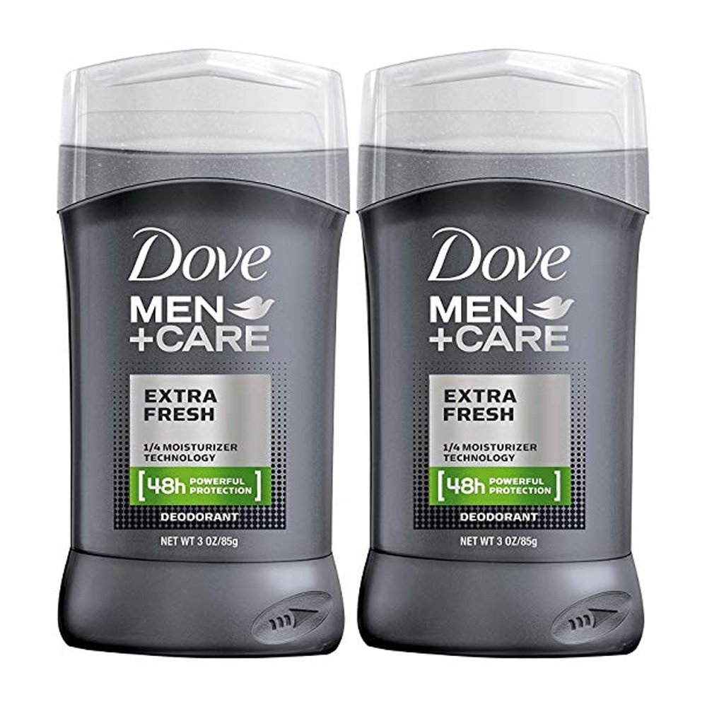 Dove Men +Care Deodorant, Extra Fresh - 3 oz - 2 pk