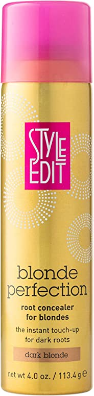 Style Edit DARK BLONDE Root Concealer Touch Up Spray | Instantly Covers Grey Roots | Professional Salon Quality Cover Up Hai