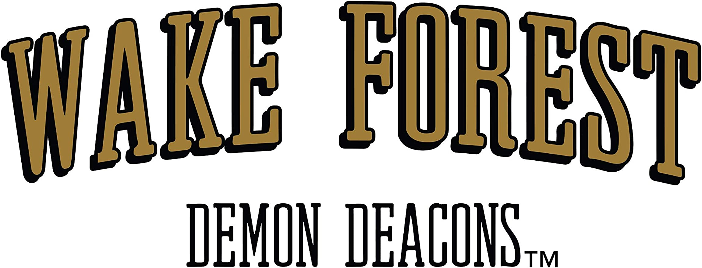 RYLWF06 Mens//Womens Boyfriend Sweatshirt Official NCAA Wake Forest Deacons