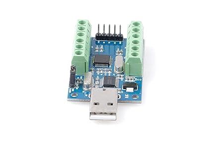 Amazon com: USB 10-Channel 12-Bit AD Data Acquisition Module STM32
