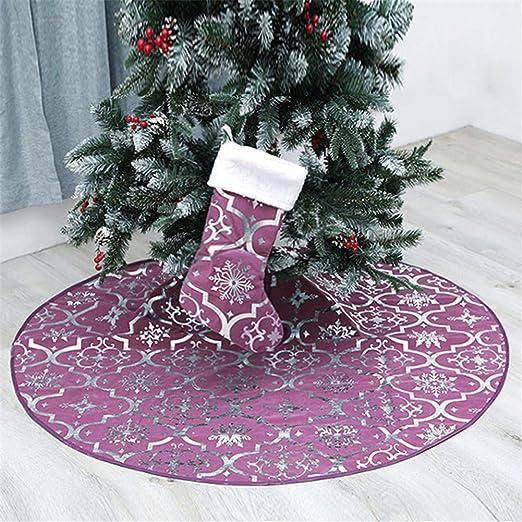 Meiju Falda del árbol de Navidad, Suave Alfombra de Árbol ...