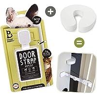 Door Buddy Door Latch Plus Door Stopper. Keep Dog Out of Litter Box and Prevent Door from…