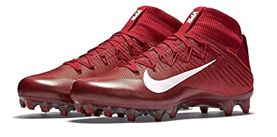 9bf44a837395c Nike Men's Vapor Untouchable 2 Football Cleat (10 M US, University Red/White