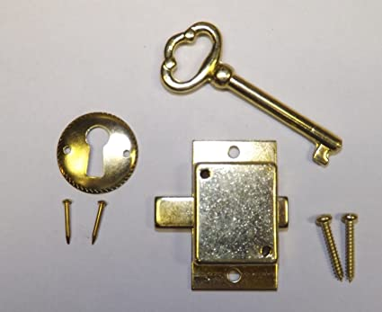Amazon Com Grandfather Clock Door Lock Key Set New Brass Ridgeway