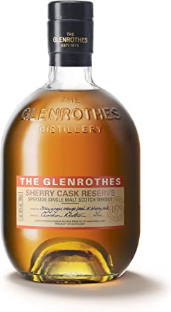 The Glenrothes 2001 + Sherry Cask + Vintage Reserve + Peat Cask - Whisky, pack de 4 botellas x 0.7 L