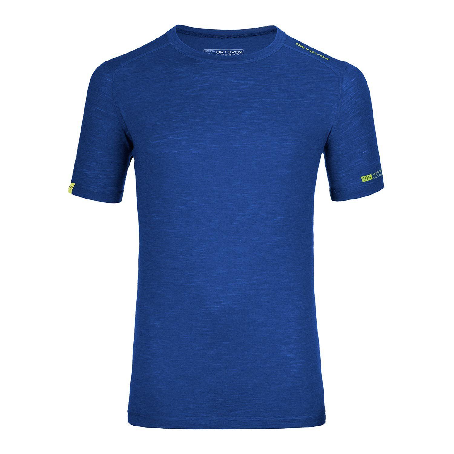 Ortovox Ultra 105 Short Sleeve Shirt - strong blue