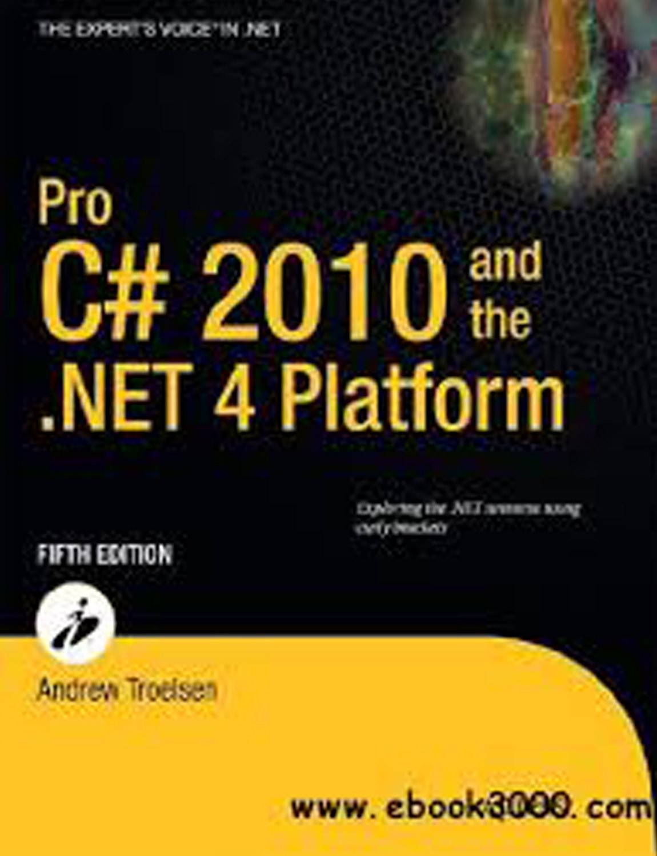 Pro C 220 and the .NET 220.20 Platform, 20e Andrew Troelsen ...