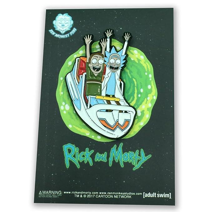 Pin Rick y Jerry Atracciones