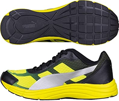 66105e49ab60b2 Puma Expedite Mens Running Shoes - Yellow-12  Amazon.co.uk  Shoes   Bags