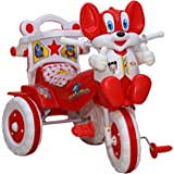 Amardeep and Co Baby Tricycle Red 86*64*33 cms 1-3 yrs  - 1523MZ_red