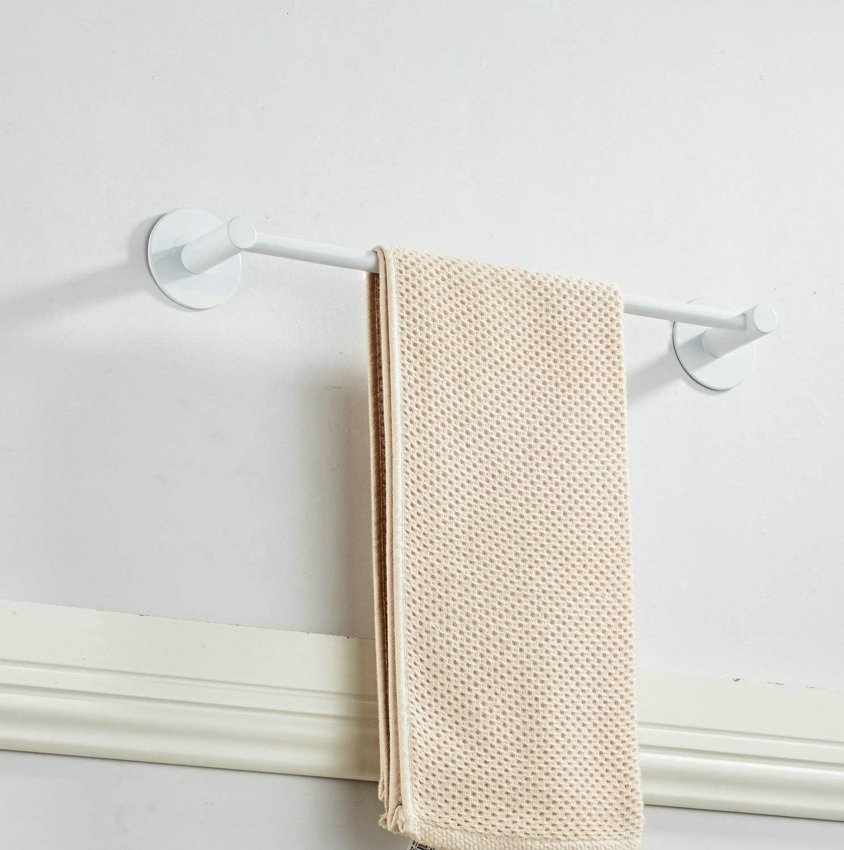 Black Matte Kelelife 30cm Towel Rail Holder No Drilling