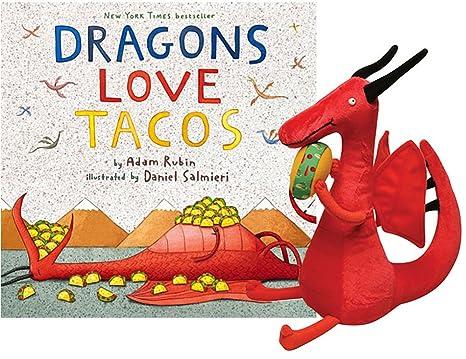 Amazon Dragons Love Tacos Book Plush Gift Set Toys Games