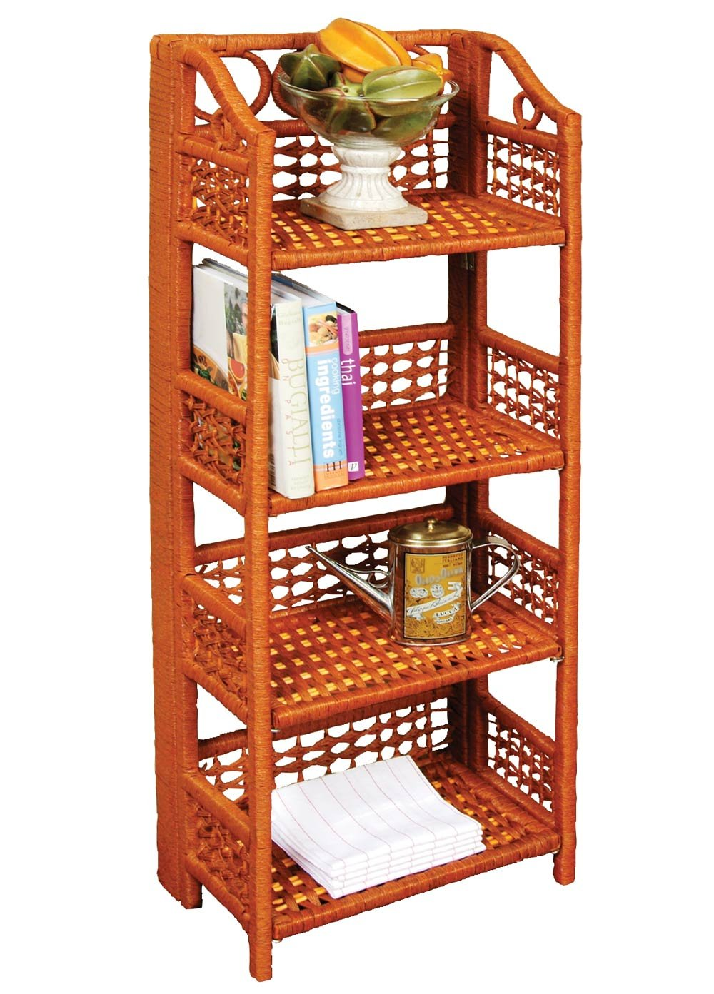 Very Amazon.com: WalterDrake Wicker Shelves: Kitchen & Dining UJ11