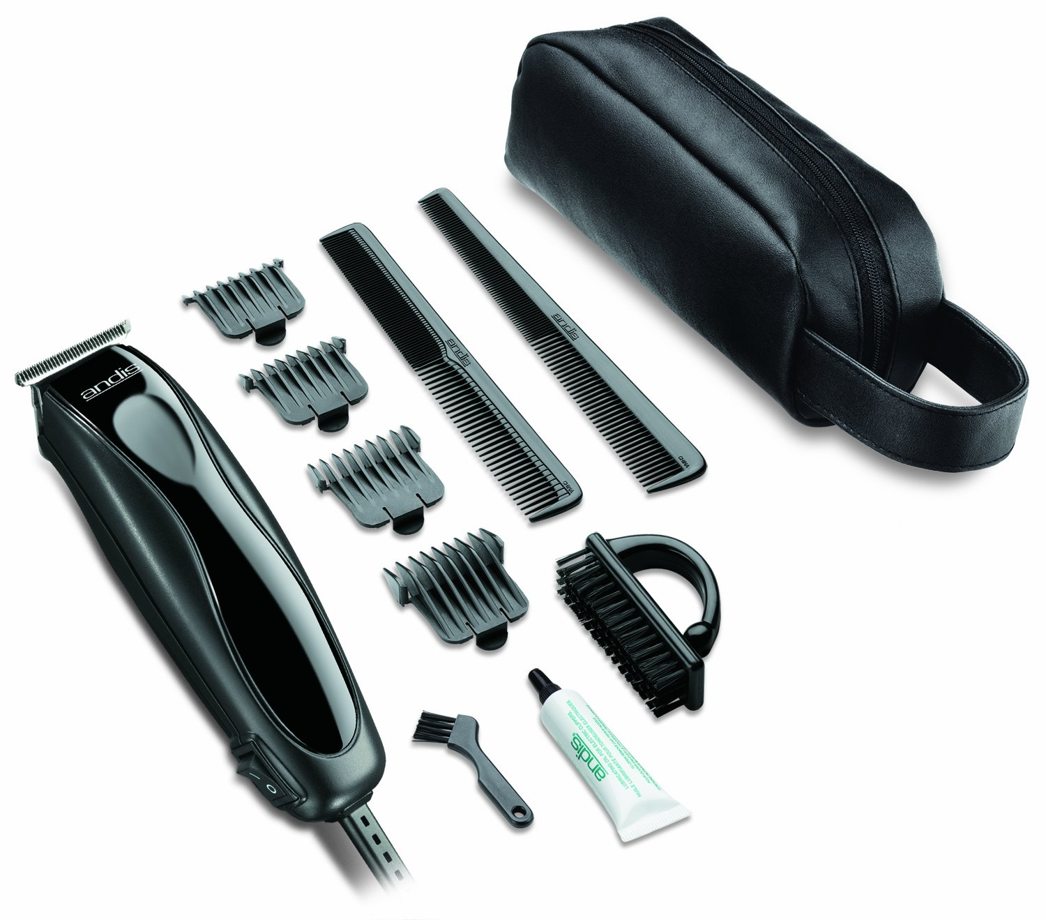 Andis Skin-Close Headliner 11-Piece Hair Clipper/Beard Trimmer Kit, Black, Model LS-2 (29775) by Andis (Image #2)