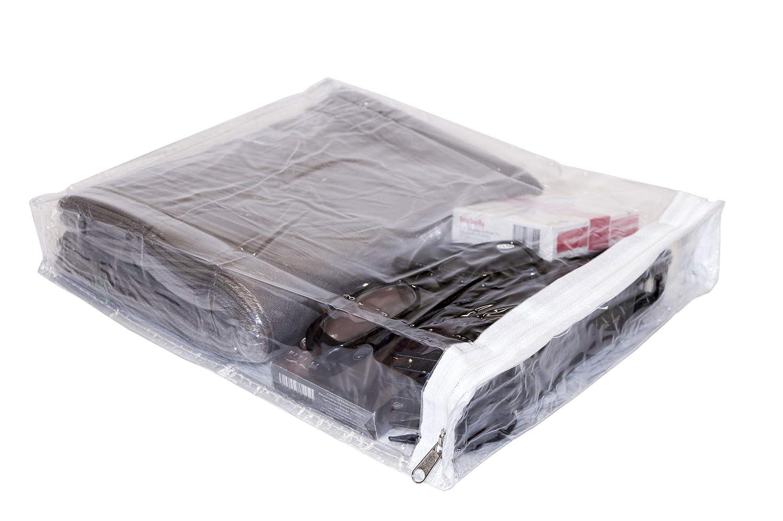 Amazon.com: Bolsas de almacenamiento de vinilo transparente ...