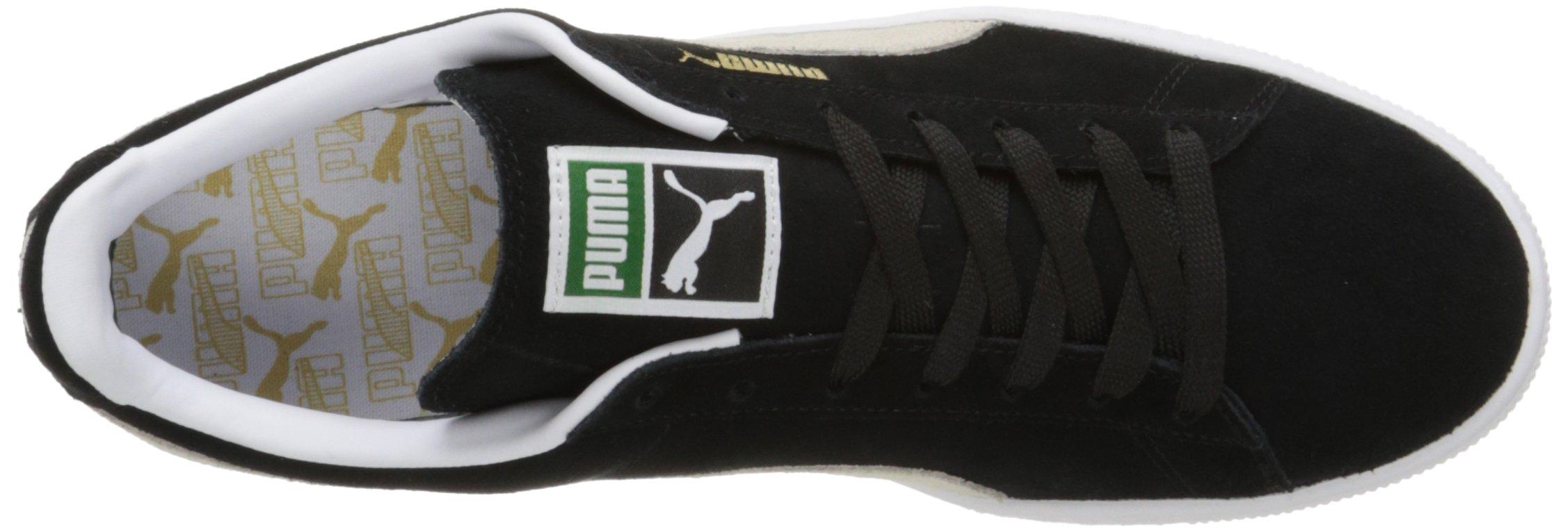 PUMA Suede Classic Sneaker,Black/White,9.5 M US Men's by PUMA (Image #16)