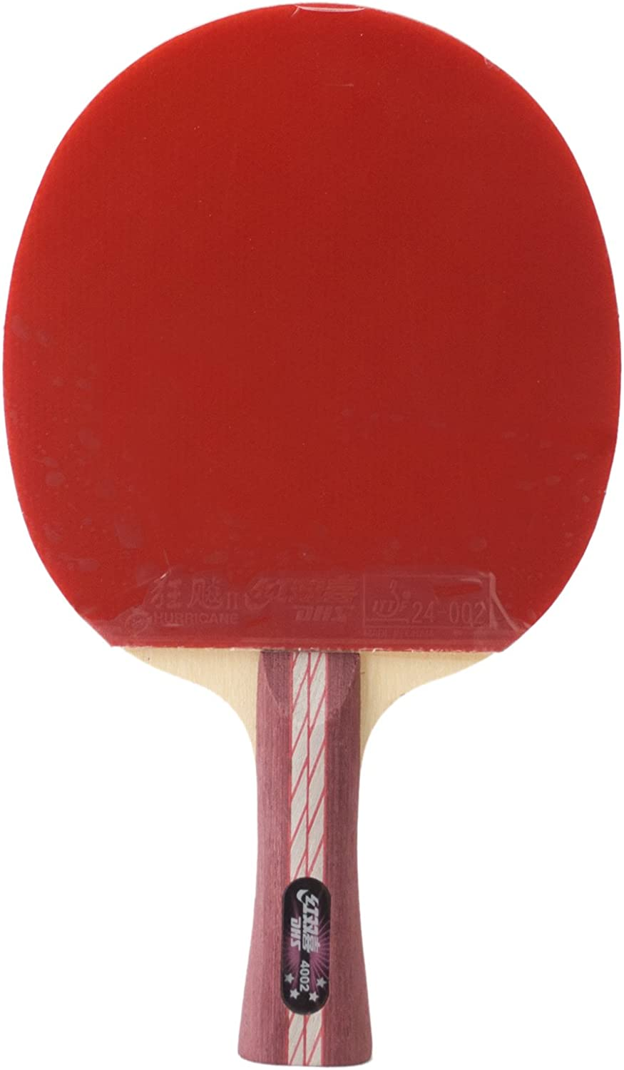 DHS flaired X4002 All-Star Double Happiness - Raqueta de ping-pong