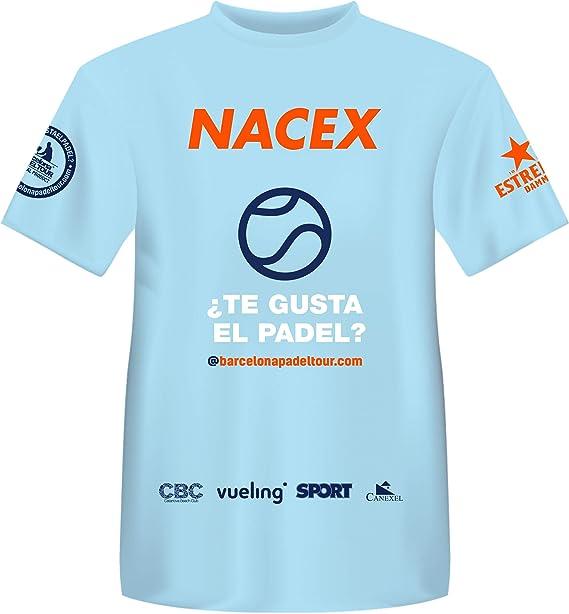 Barcelona Padel Tour Camiseta Manga Corta Técnica Joma Xpress ...