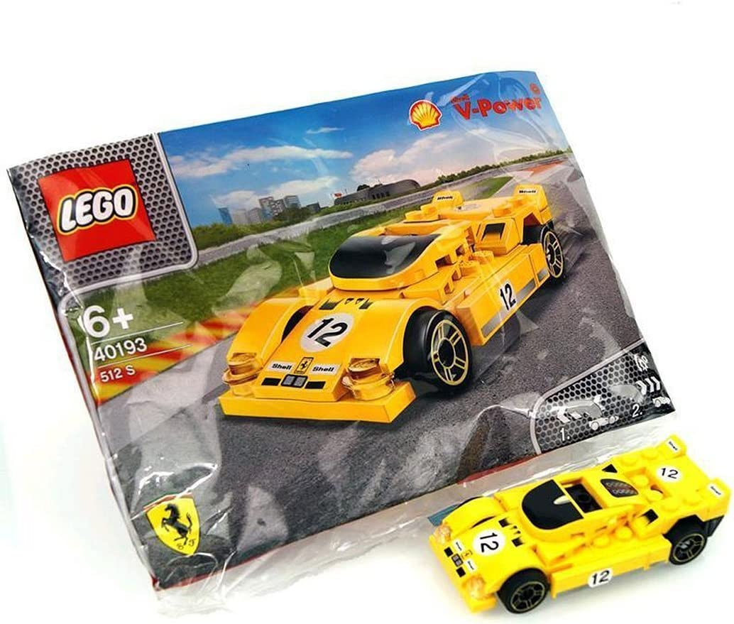 LEGO 2014 The New Shell V-Power Collection Ferrari 512 S 40193 Exclusive Sealed