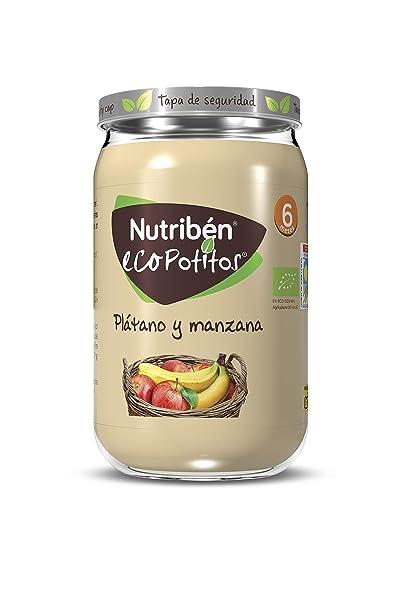 Nutribén® EcoPotitos® De Plátano Y Manzana Desde Los 6 Meses, 235 ...
