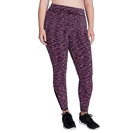 70dbbbf8bd Livi Active Women's Wicking Spacedye Active Leggings Purple Zig Zag 18/20