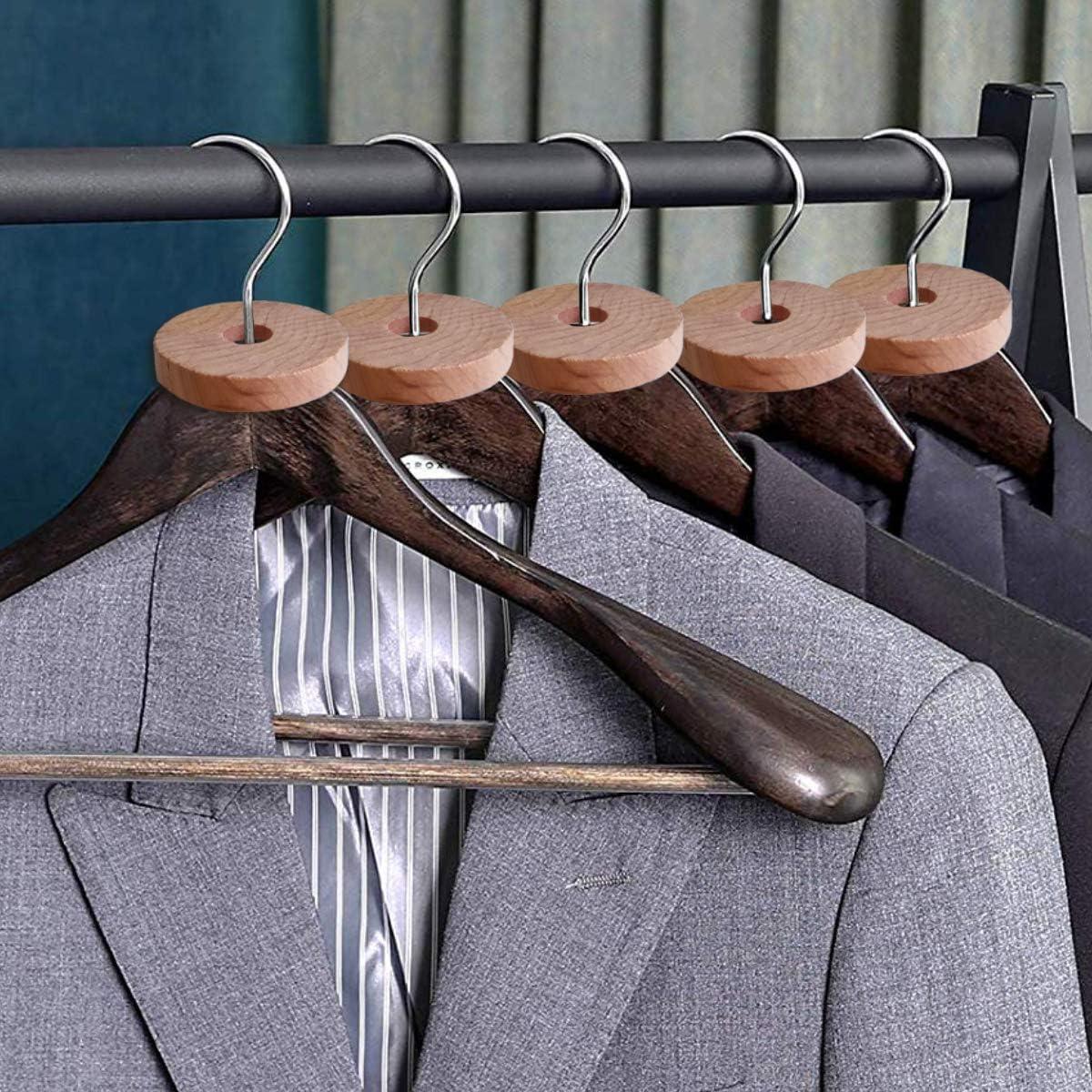 24 Cedar Rings and 30 Cedar Balls Cedar Rounds Disks Blocks for Closets Drawers Pengpet Cedar Rings Balls for Clothes Storage