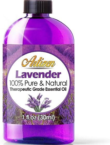 Amazon Com Artizen Lavender Essential Oil 100 Pure Natural