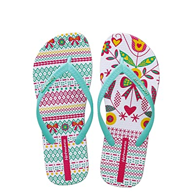 51e3713e28cc75 Hotmarzz Women s Fashion Summer Flip Flops Beach Shoes Flat Sandals Size 3  B(M)