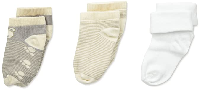 Amazon Com Country Kids Baby Boys Newborn Teddy Bear Socks 3 Pairs
