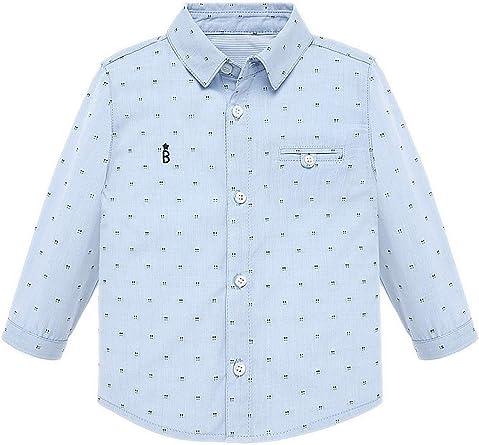 Mayoral, Camisa para bebé niño - 2114, Azul: Amazon.es: Ropa y accesorios