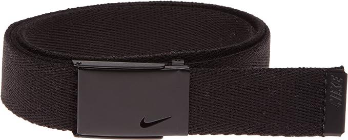 348af94738 Nike Women's Tech Essentials Single Web Belt, Black, One Size ...