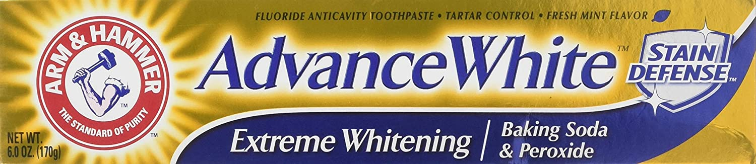 Arm & Hammer Advance White Extreme Whitening Toothpaste Clean Mint - 6 Oz-