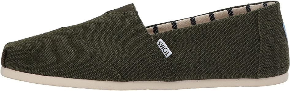 6989289a5 Classic Pine Heritage Mens Canvas Espadrilles Shoes. TOMS Classic Pine  Heritage Mens Canvas Espadrilles Shoes